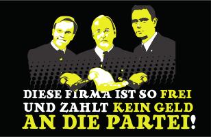 Anti-Schutzgeld-Pickerl (Bild: wirstaatskuenstler.at)